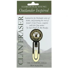 Outlander Inspired Clan Fraser Bookmark 9689